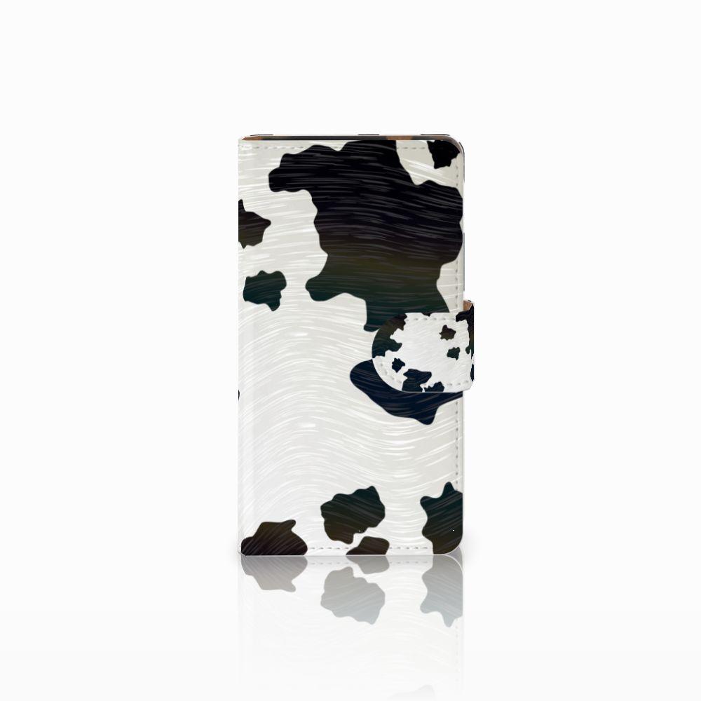 HTC Desire 601 Boekhoesje Design Koeienvlekken