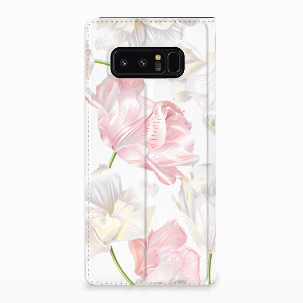 Samsung Galaxy Note 8 Standcase Hoesje Design Lovely Flowers