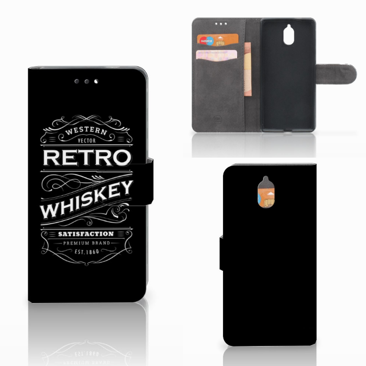 Nokia 3.1 (2018) Book Cover Whiskey