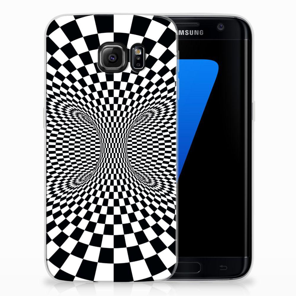Samsung Galaxy S7 Edge TPU Hoesje Illusie