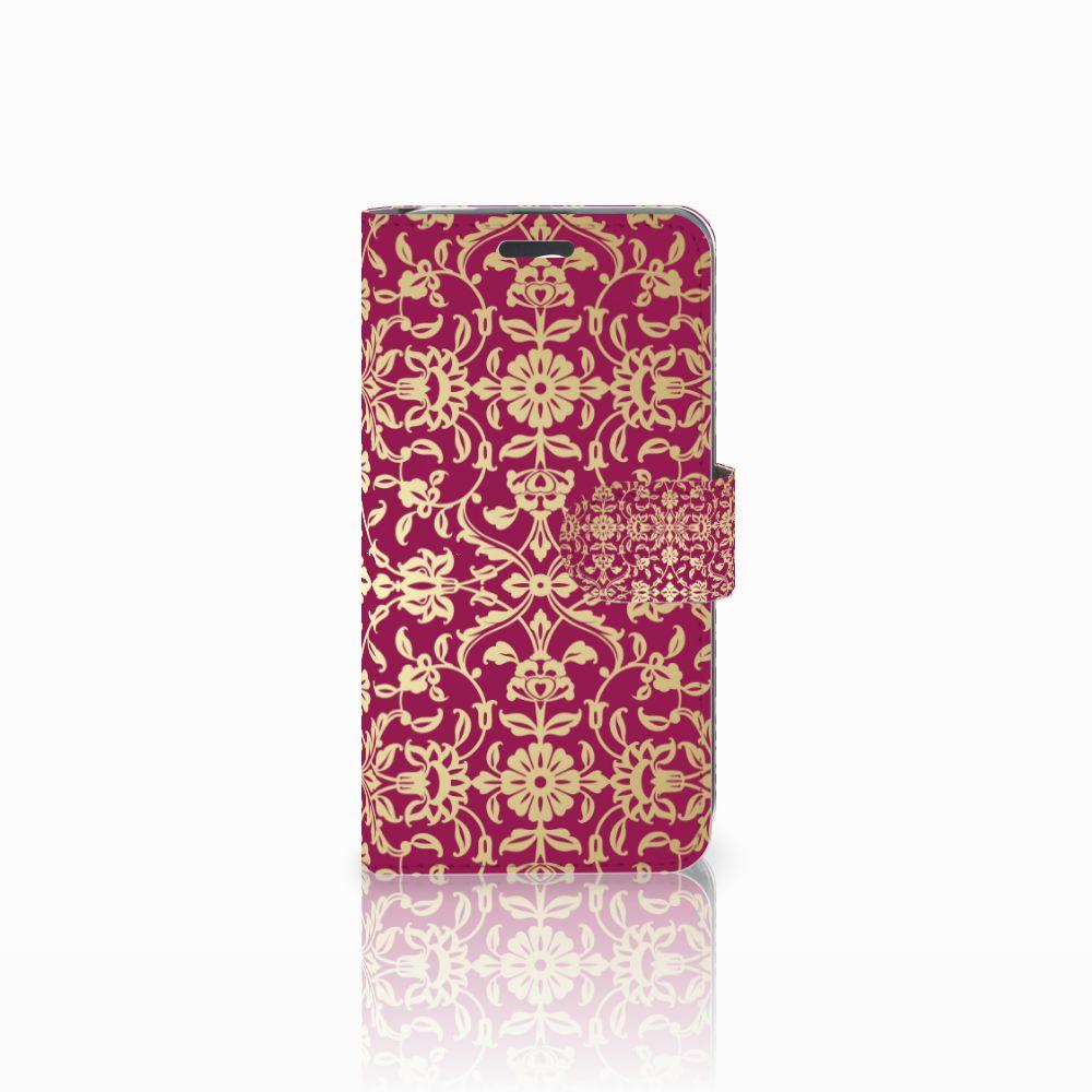 Acer Liquid Z520 Boekhoesje Design Barok Pink