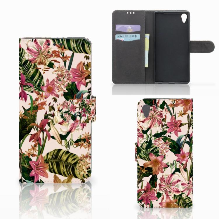 Sony Xperia Z5 Premium Hoesje Flowers