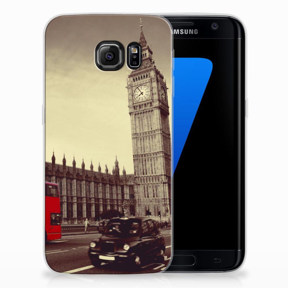Samsung Galaxy S7 Edge TPU Hoesje Design Londen