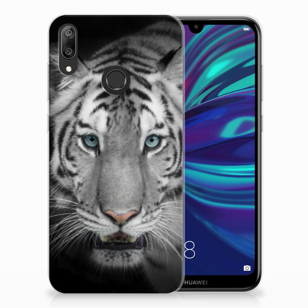 Huawei Y7 2019 Leuk Hoesje Tijger