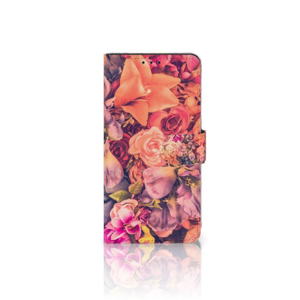 Samsung Galaxy J4 Plus (2018) Boekhoesje Design Bosje Bloemen