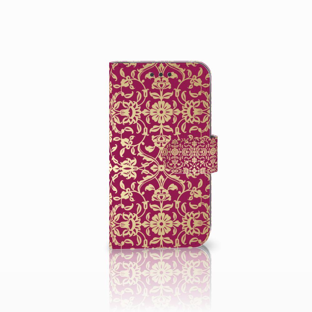 Wallet Case Samsung Galaxy S3 i9300 Barok Pink