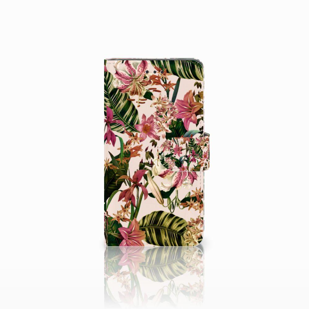 Nokia 7 Uniek Boekhoesje Flowers