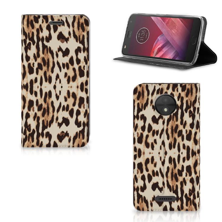 Motorola Moto C Hoesje maken Leopard