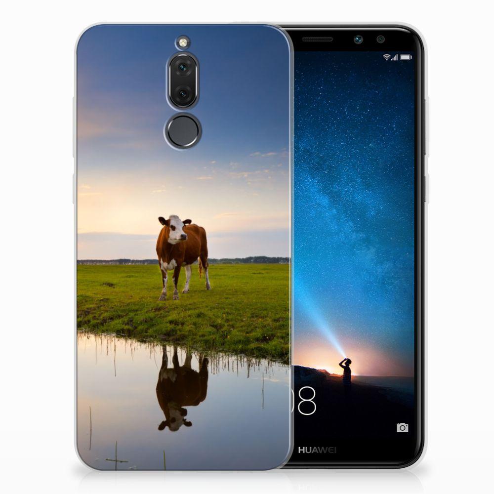 Huawei Mate 10 Lite TPU Hoesje Design Koe