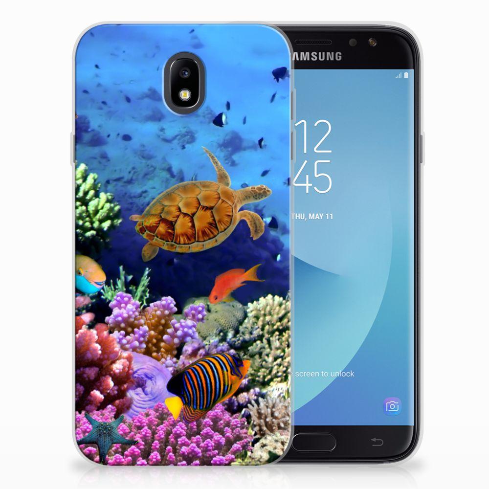 Samsung Galaxy J7 2017 | J7 Pro TPU Hoesje Design Vissen