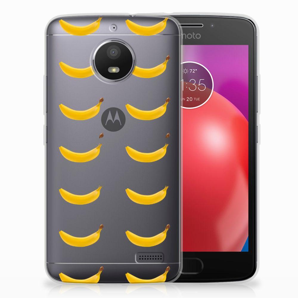 Motorola Moto E4 Siliconen Case Banana