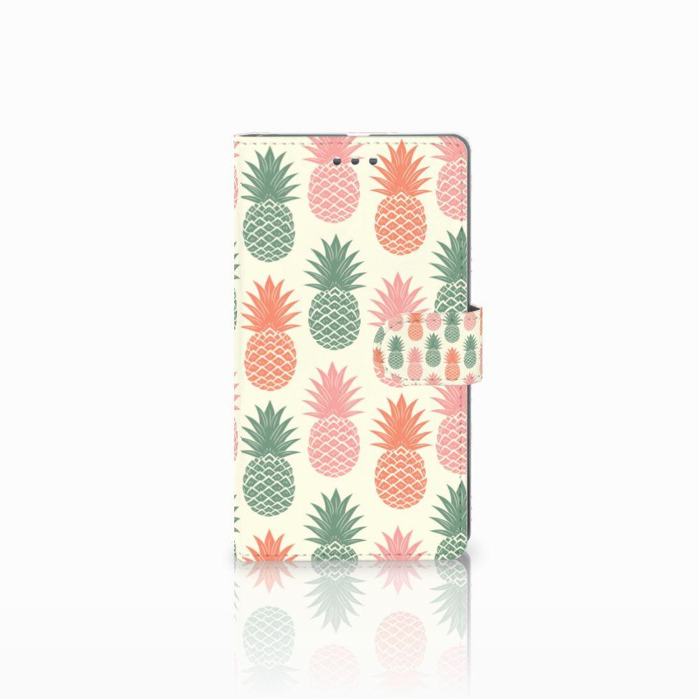 Microsoft Lumia 950 XL Boekhoesje Design Ananas