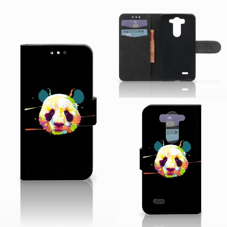 LG G3 S Leuke Hoesje Panda Color