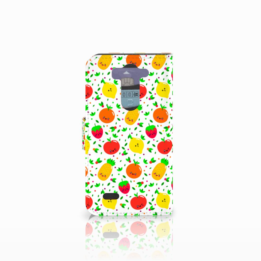 LG G3 S Book Cover Fruits