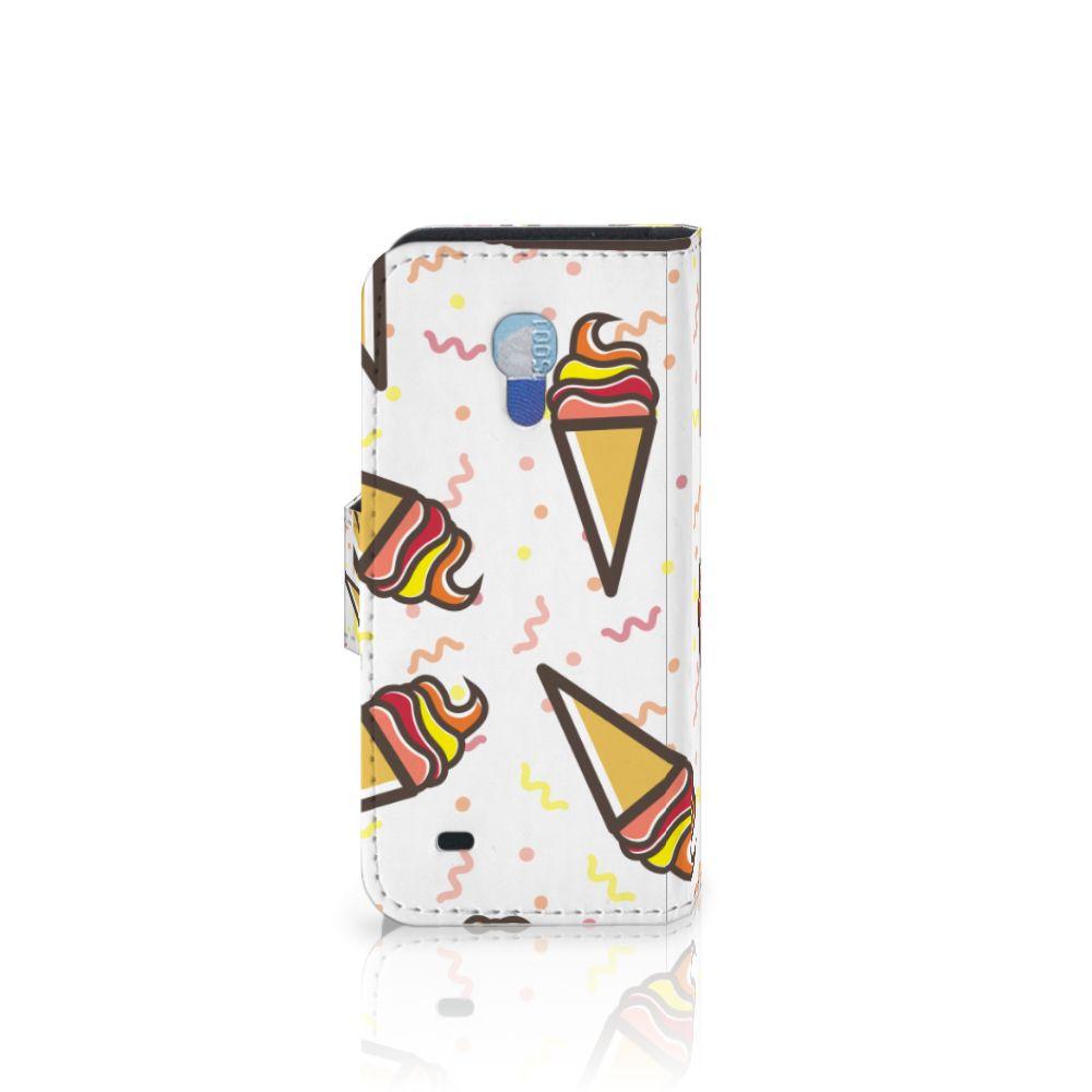 Samsung Galaxy S4 Mini i9190 Book Cover Icecream