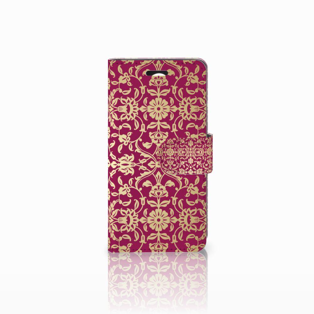 Huawei Y3 2 | Y3 II Boekhoesje Design Barok Pink