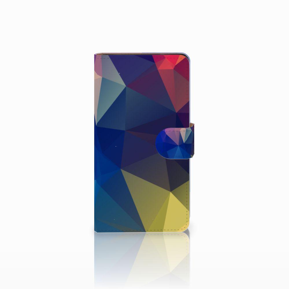 Huawei Ascend G700 Bookcase Polygon Dark