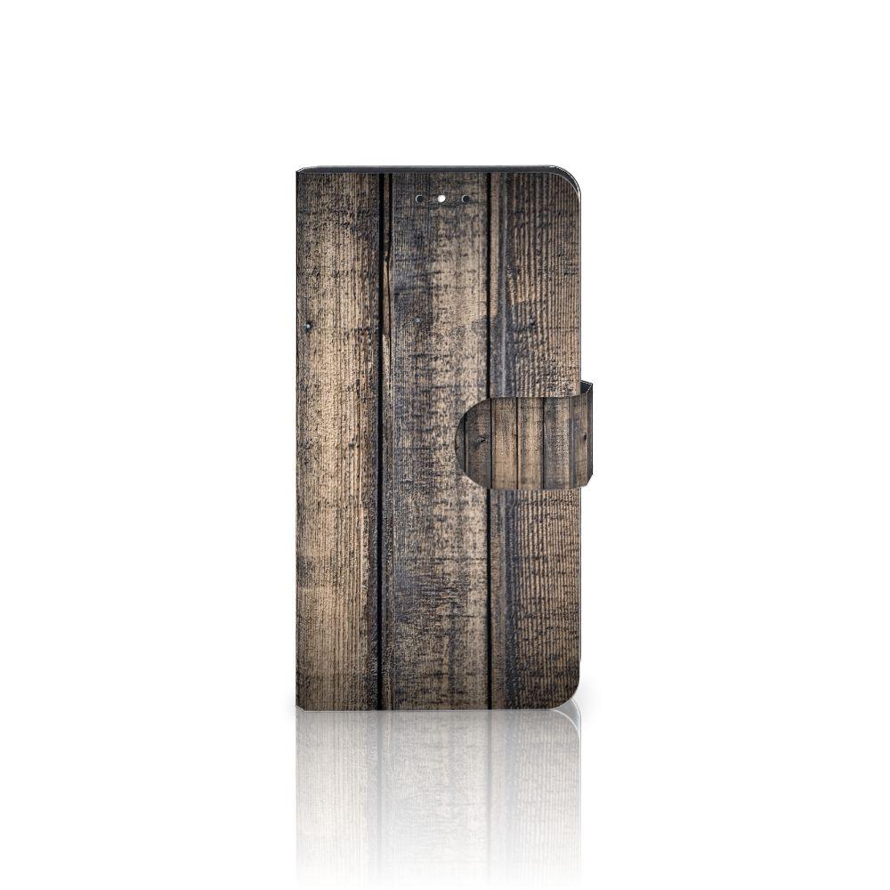 Motorola Moto G5S Plus Boekhoesje Design Steigerhout