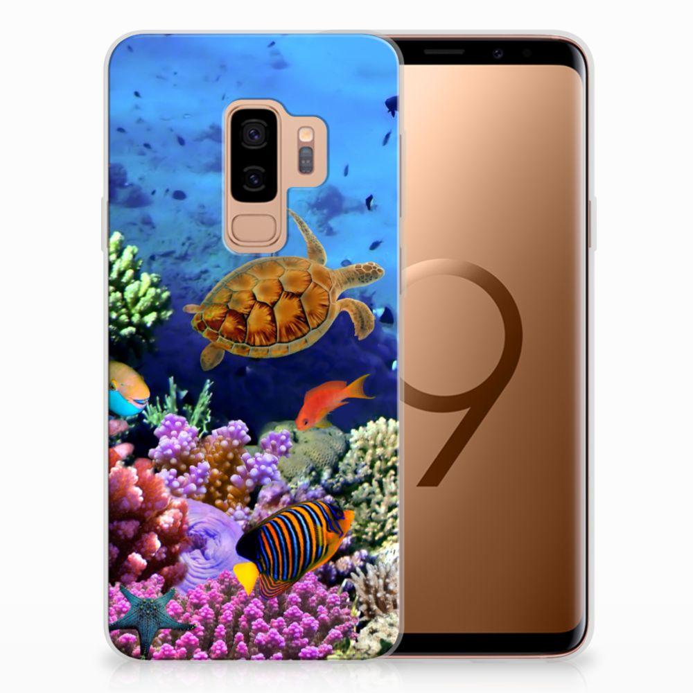 Samsung Galaxy S9 Plus TPU Hoesje Design Vissen