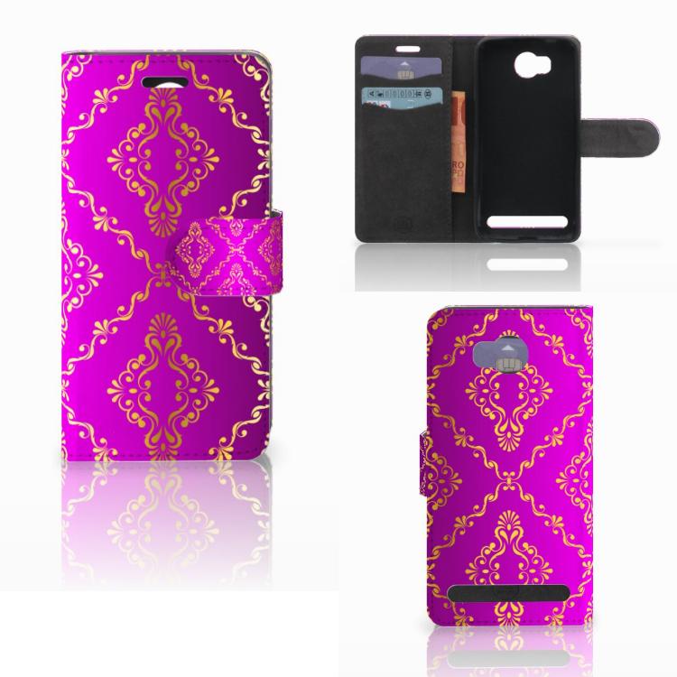 Wallet Case Huawei Y3 2   Y3 II Barok Roze