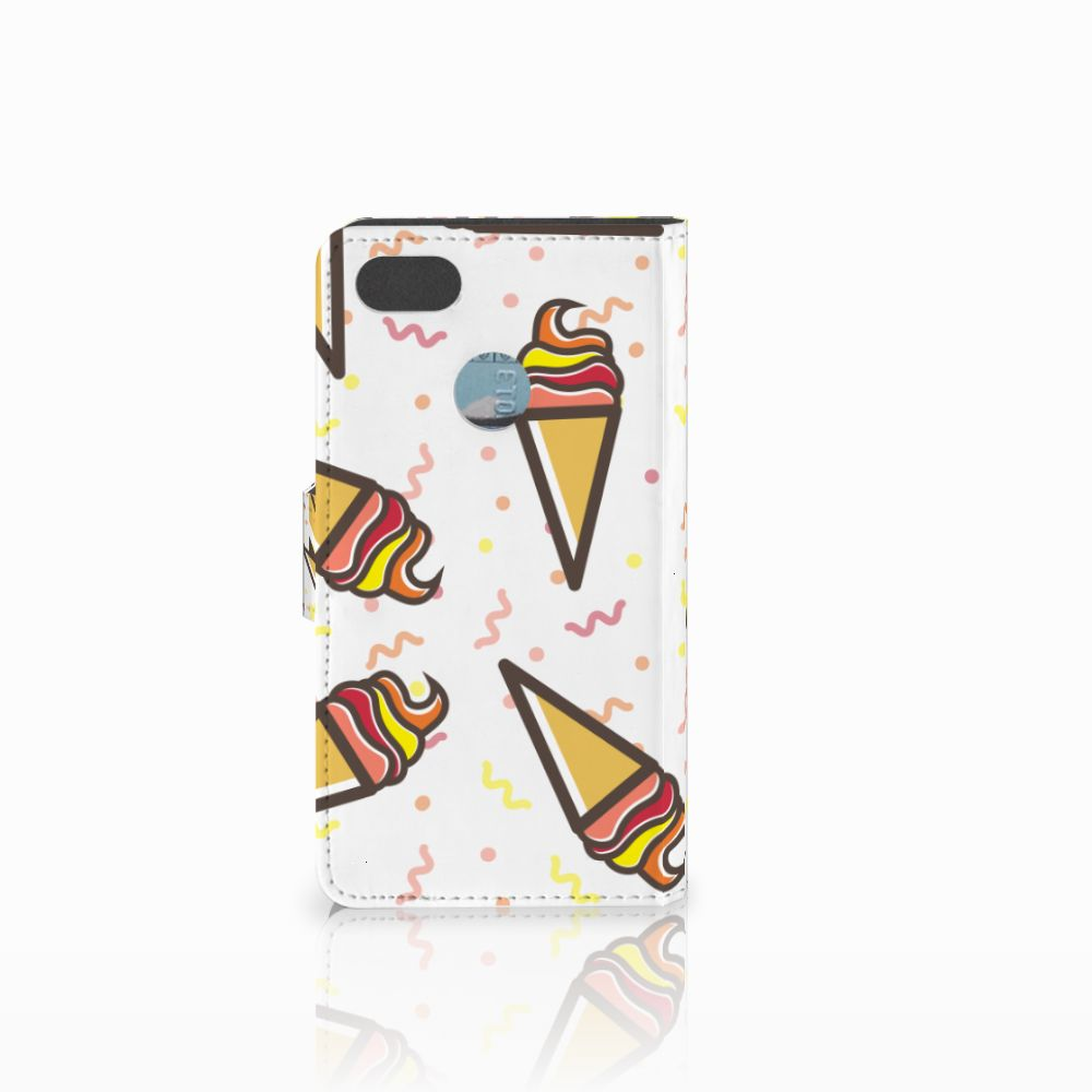 Huawei Y6 Pro 2017 Book Cover Icecream