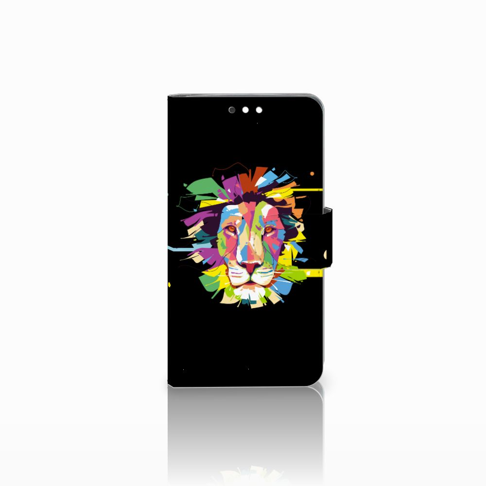 Nokia 8 Sirocco | Nokia 9 Uniek Boekhoesje Lion Color