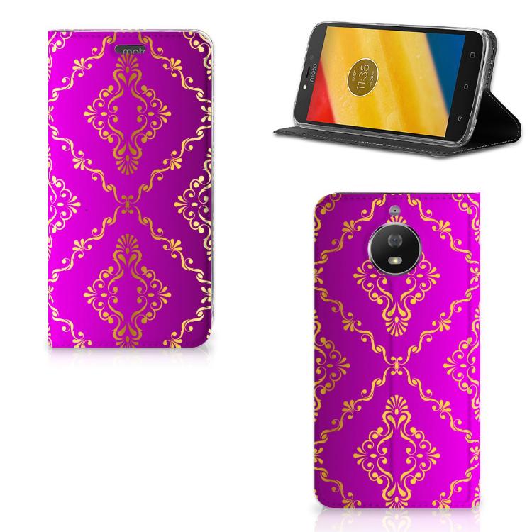 Telefoon Hoesje Motorola Moto G5S Barok Roze