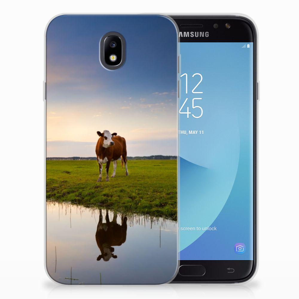 Samsung Galaxy J7 2017 | J7 Pro TPU Hoesje Design Koe