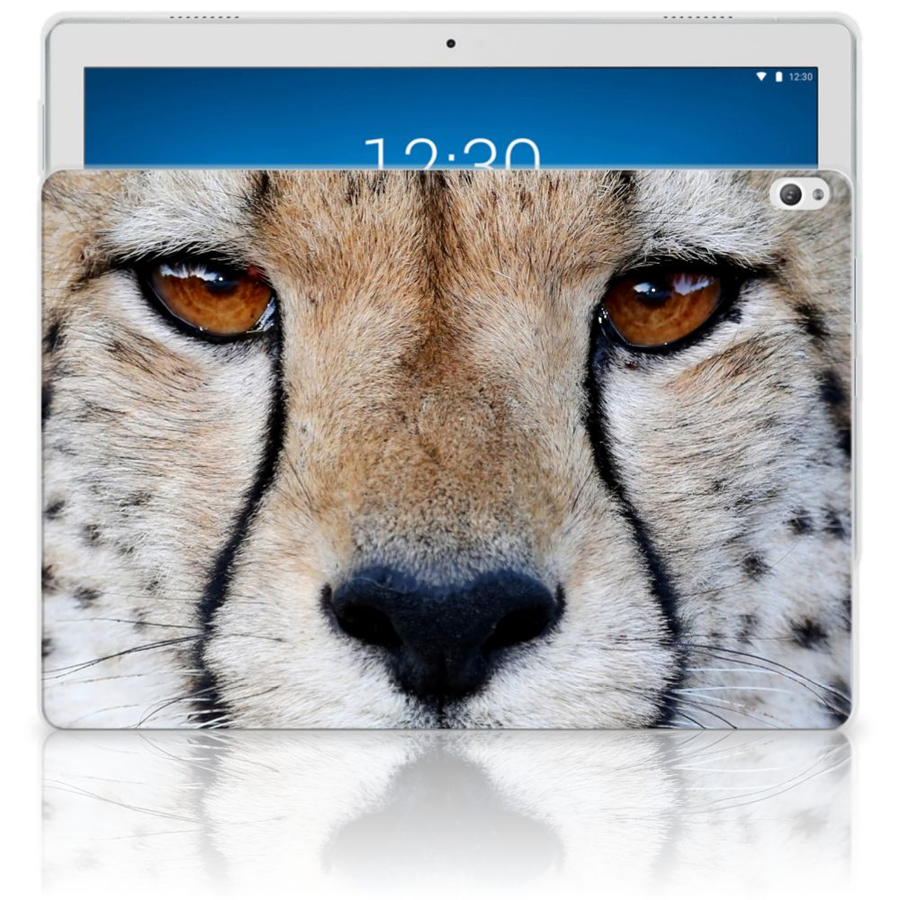 Lenovo Tab P10 Back Case Cheetah