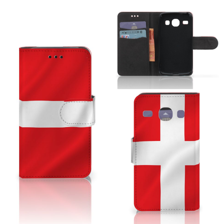 Samsung Galaxy Core i8260 Bookstyle Case Denemarken