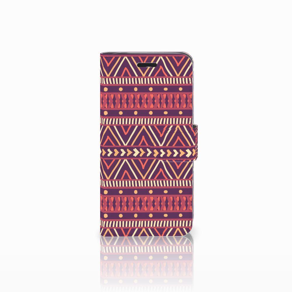 Acer Liquid Z530 | Z530s Uniek Boekhoesje Aztec Purple