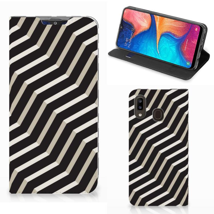 Samsung Galaxy A30 Stand Case Illusion