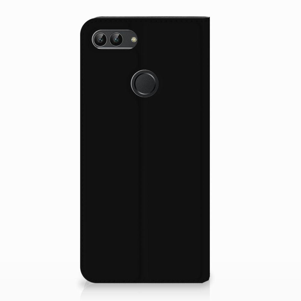 Huawei P Smart Uniek Standcase Hoesje Popart Oh Yes