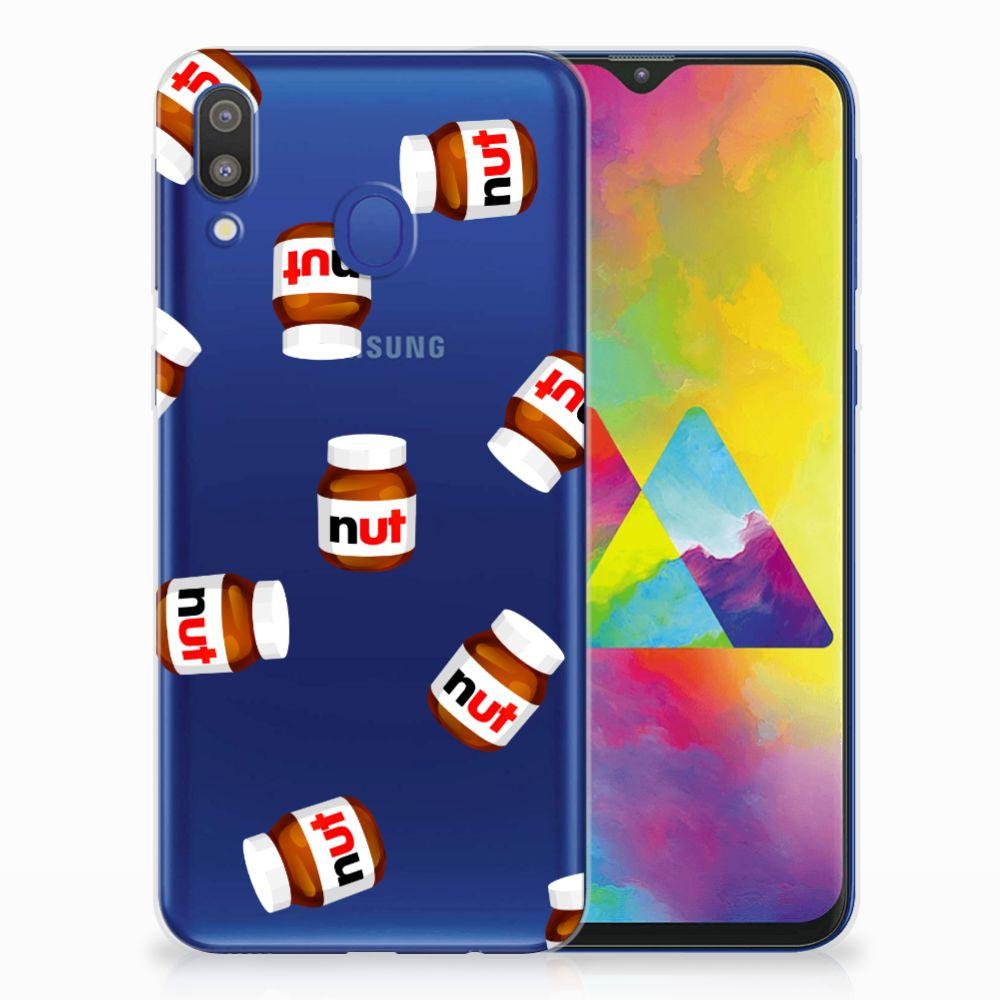 Samsung Galaxy M20 (Power) Siliconen Case Nut Jar