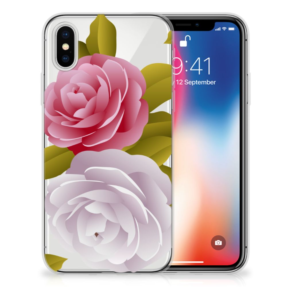 Apple iPhone X | Xs TPU Case Roses