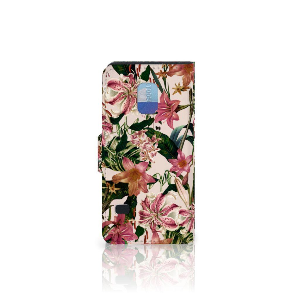 Samsung Galaxy S5 Mini Hoesje Flowers