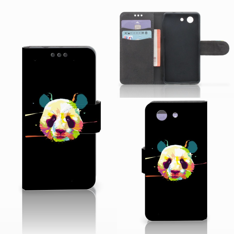 Sony Xperia Z3 Compact Leuk Hoesje Panda Color