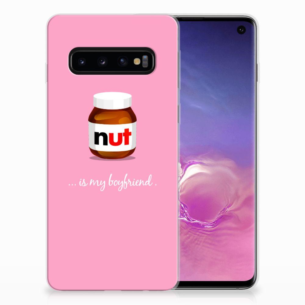 Samsung Galaxy S10 Siliconen Case Nut Boyfriend