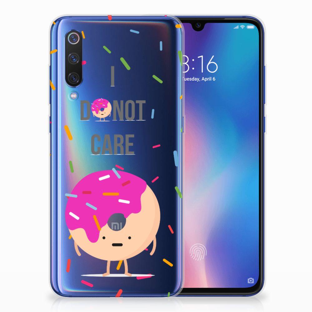 Xiaomi Mi 9 Siliconen Case Donut Roze