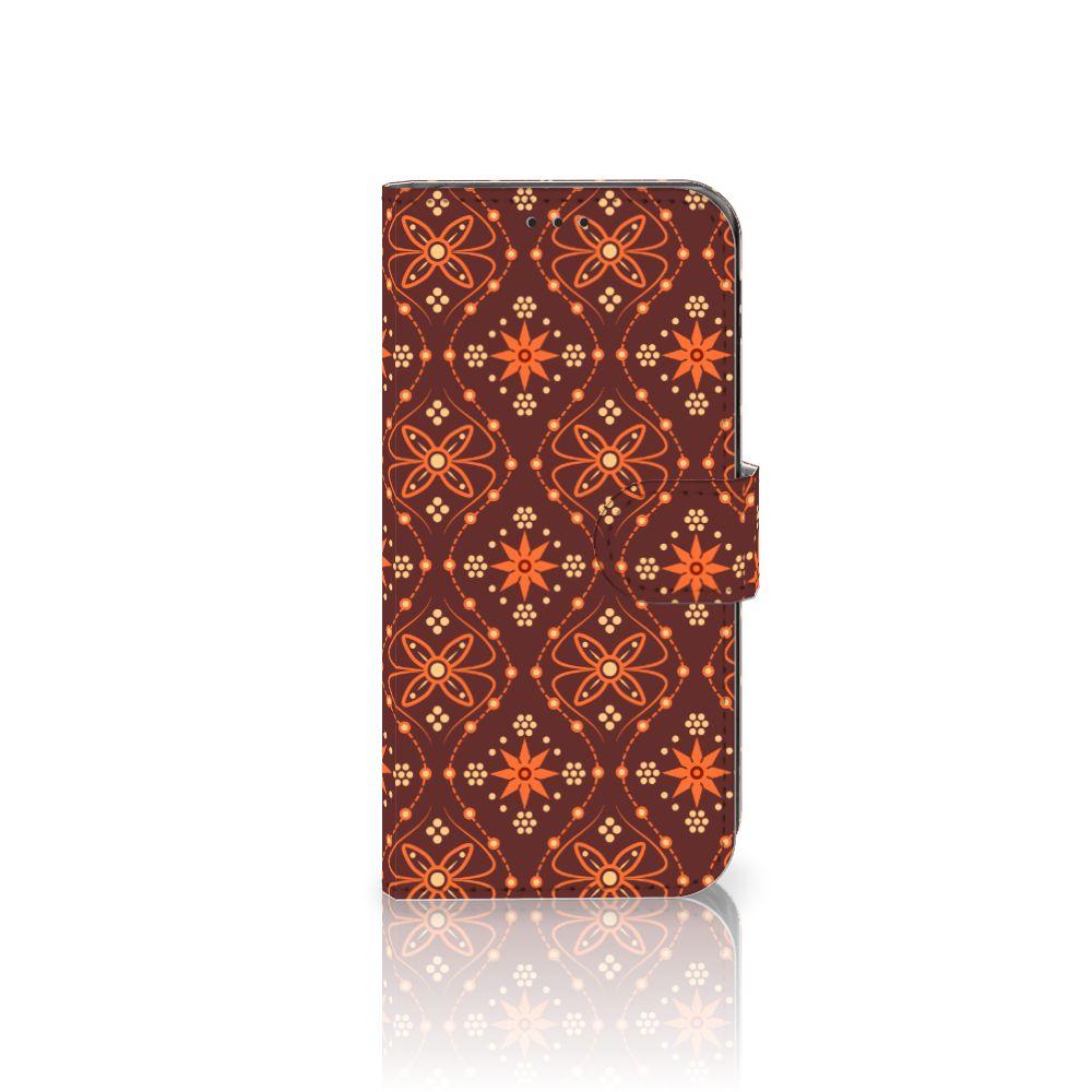Samsung Galaxy J5 2017 Uniek Boekhoesje Batik Brown