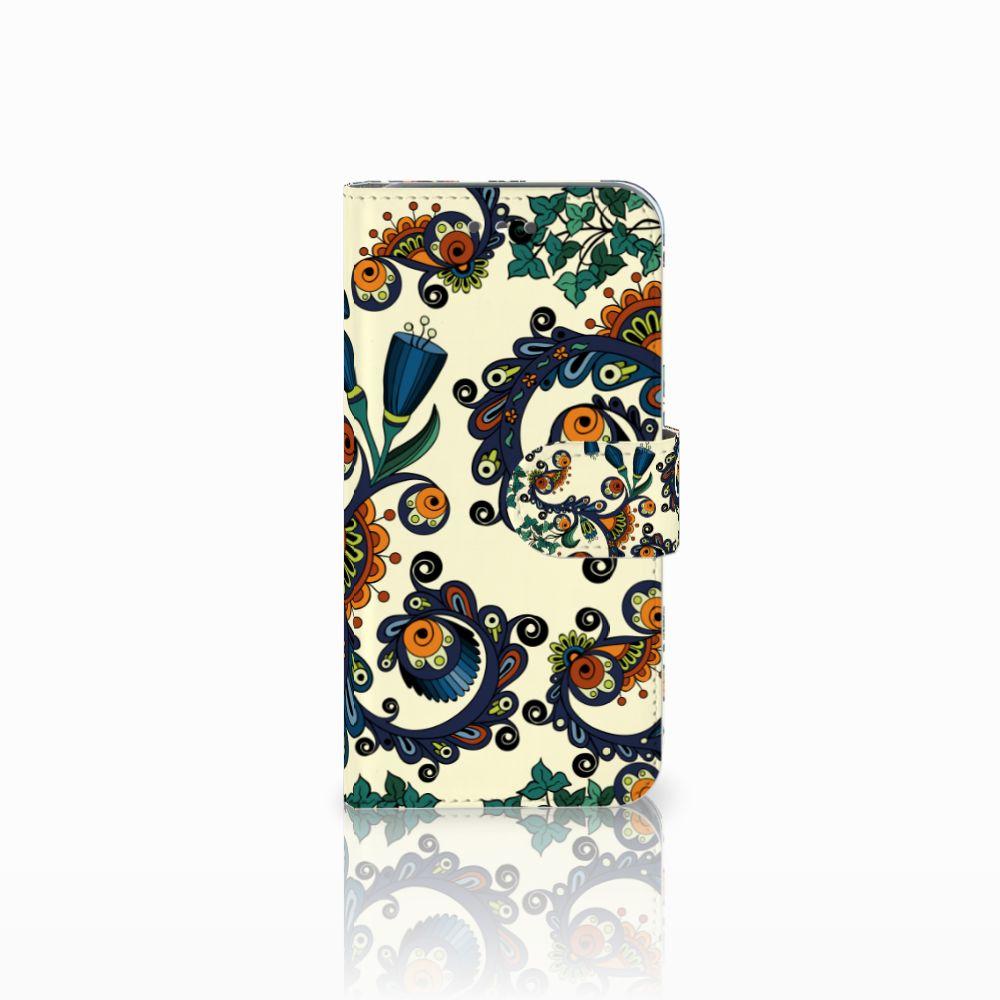 Wiko Wim Lite Boekhoesje Design Barok Flower