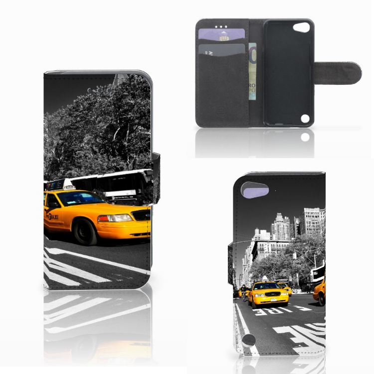 Apple iPod Touch 5 | 6 | iPod (2019) Flip Cover New York Taxi