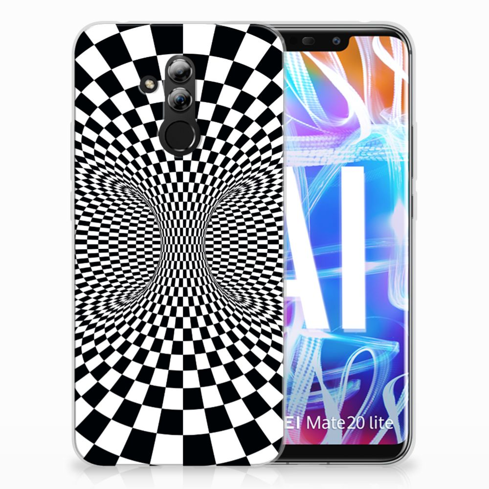 Huawei Mate 20 Lite TPU Hoesje Design Illusie