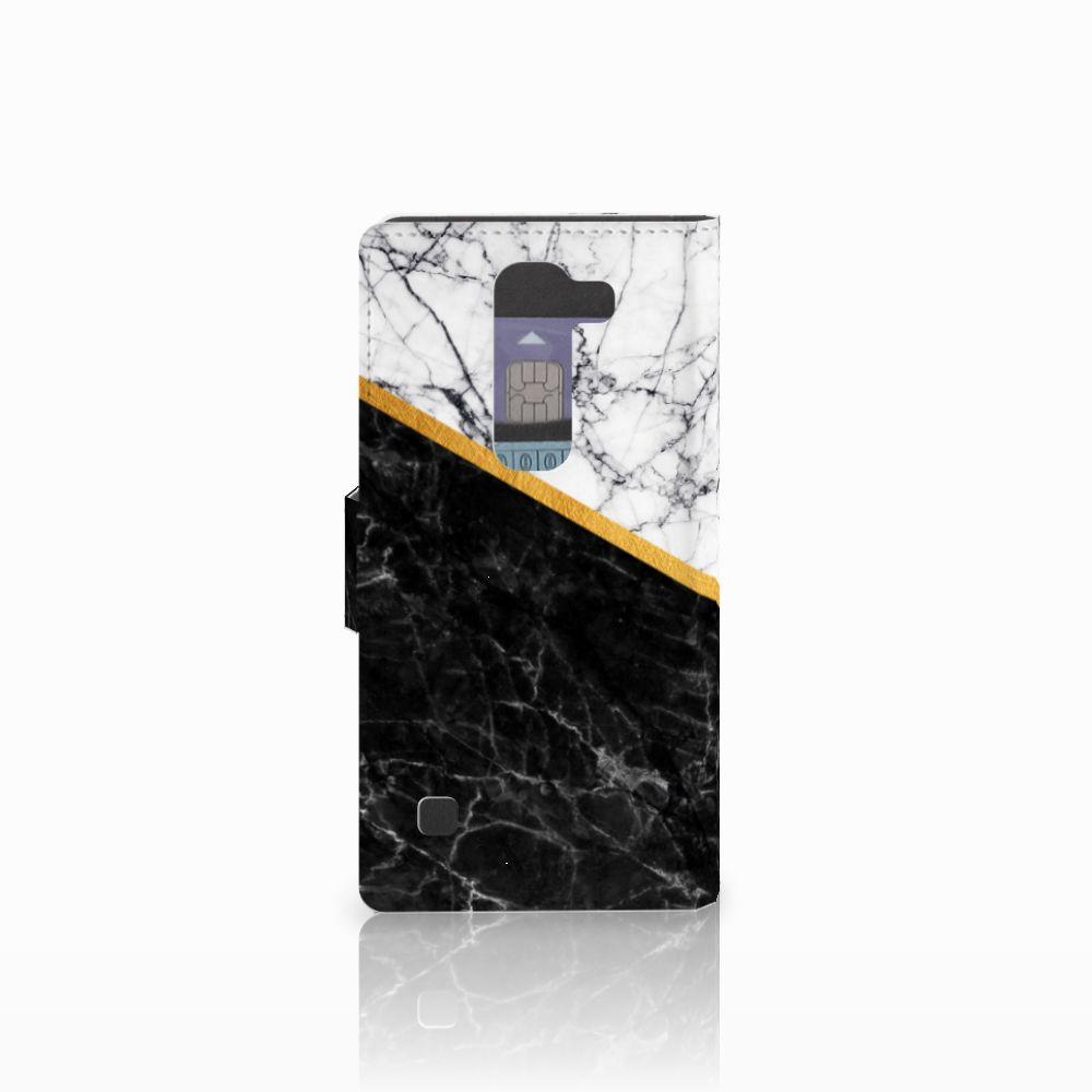 LG Spirit Bookcase Marmer Wit Zwart
