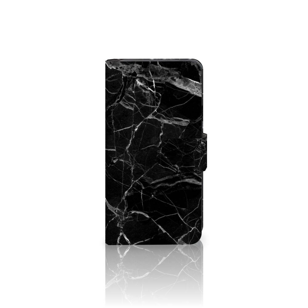 LG X Style Boekhoesje Marmer Zwart