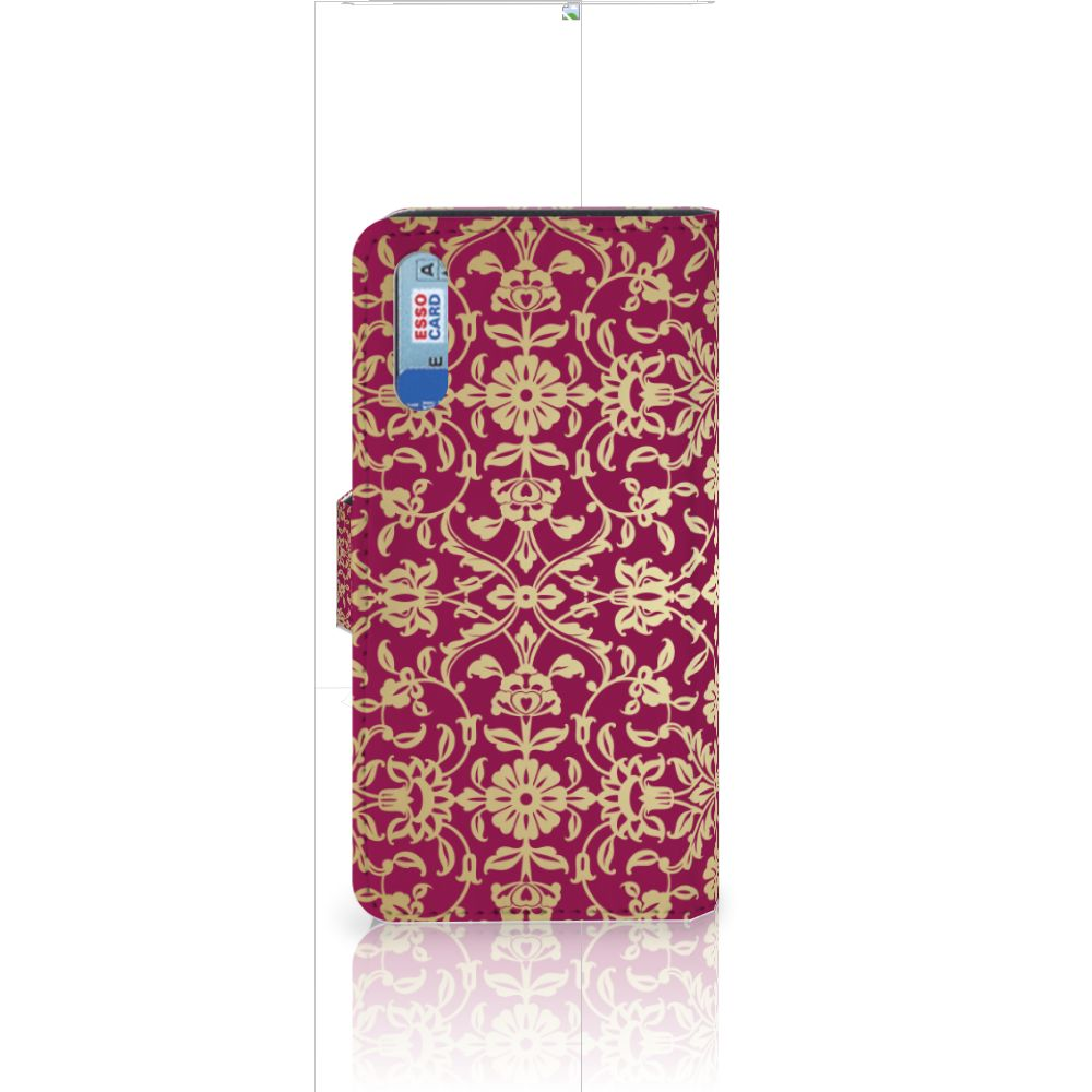 Wallet Case Huawei P20 Barok Pink