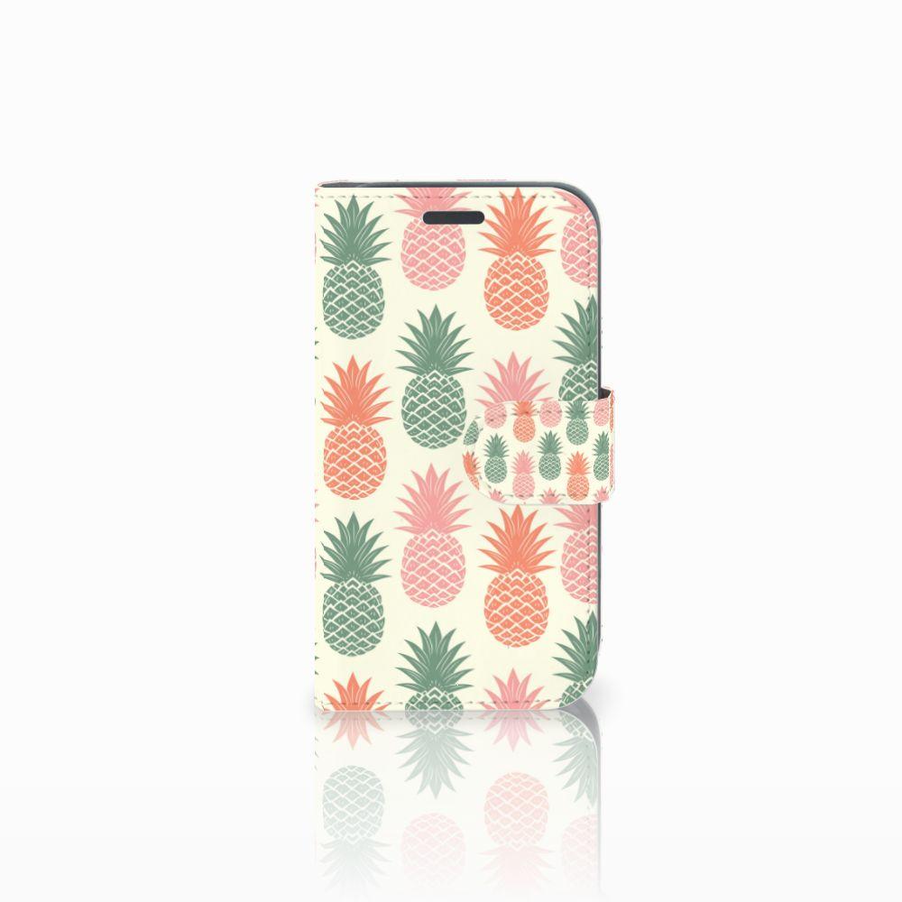 Samsung Galaxy J1 2016 Boekhoesje Design Ananas