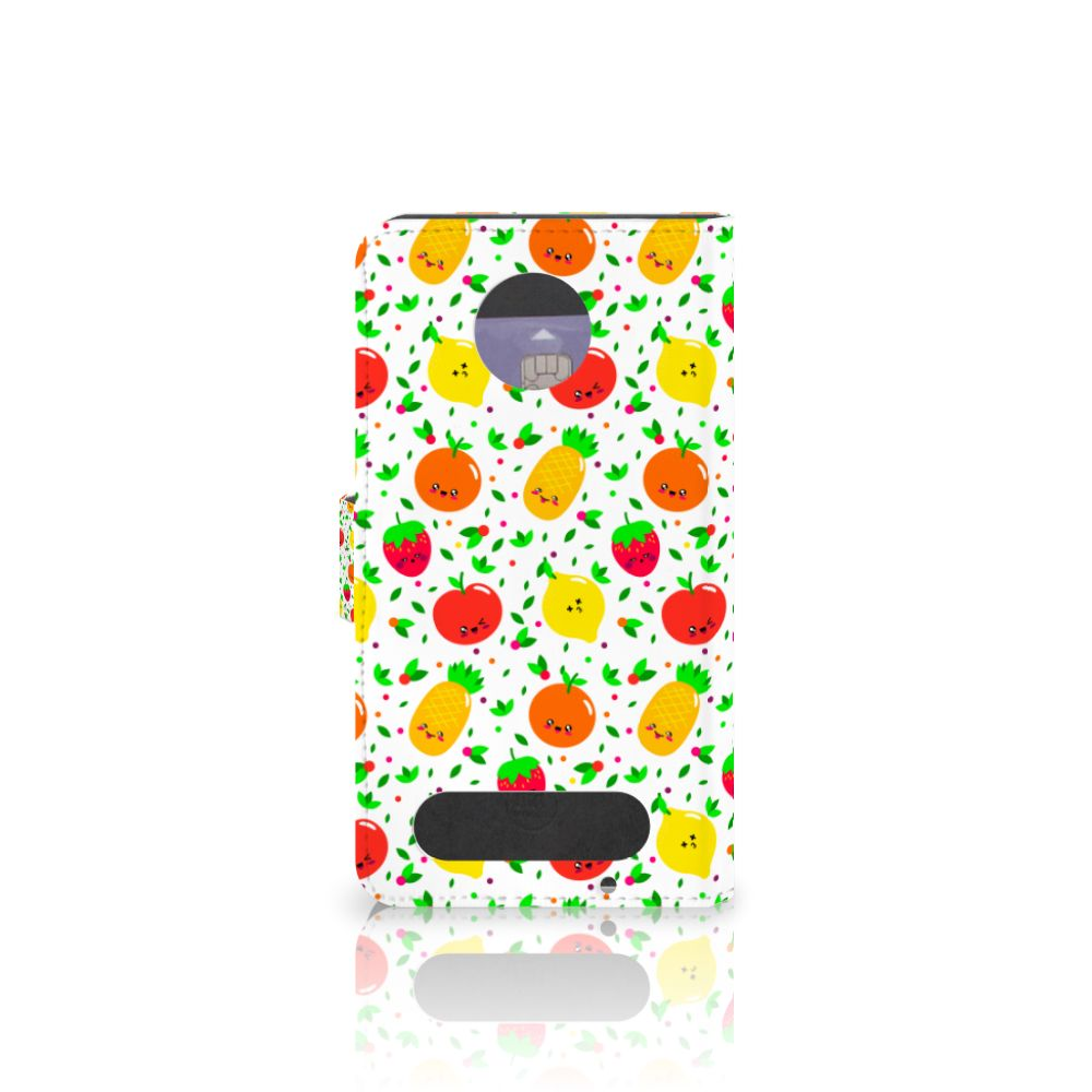 Motorola Moto Z2 Force Book Cover Fruits