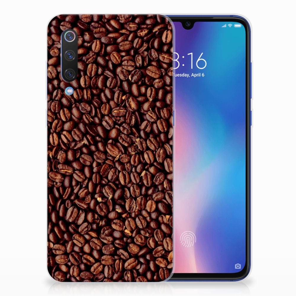 Xiaomi Mi 9 Siliconen Case Koffiebonen