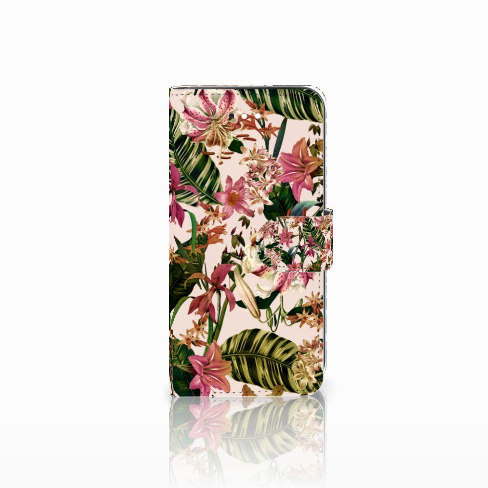 LG K11 Uniek Boekhoesje Flowers